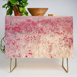 Fields of poppies Credenza