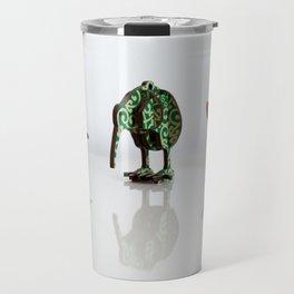 Fantail, Kiwi, Pohutukawa Travel Mug