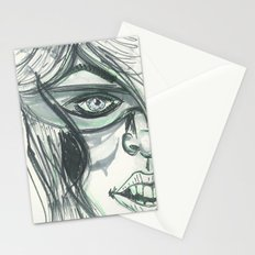 Green Heroine Stationery Cards
