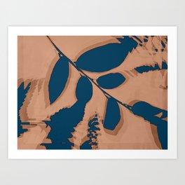 2020 Fall/Winter 03 Peach Art Print
