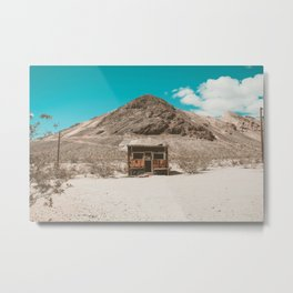 In The Middle of Nowhere | Rhyolite, Nevada Metal Print