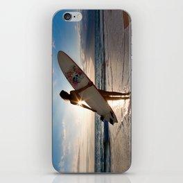 Surfer Girl iPhone Skin