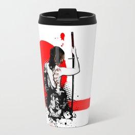 Trash Polka - Female Samurai Travel Mug