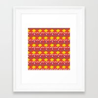 southwest Framed Art Prints featuring Southwest by zoeshop