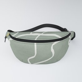 Abstract Faces Fanny Pack