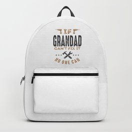 Gift for Grandad Backpack
