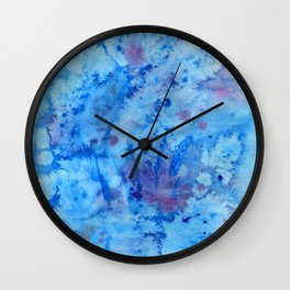 Ocean Fantasy Watercolor Wall Clock