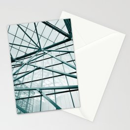 Modern Abstract Mall Stationery Cards
