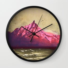 Sea.Mountains.Light . i. Wall Clock