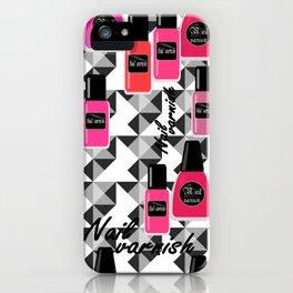 Nail Polish iPhone Case