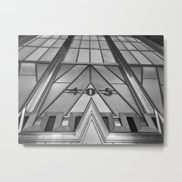 405 Lexington Avenue New York Metal Print