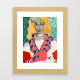 Surrealist Mystic Collage Vector Art Dora Maar Framed Art Print