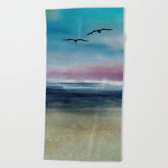 Ocean Landscape Beach Towel