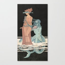 Scylla and Glaucus Canvas Print
