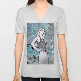 Cancer Unisex V-Neck