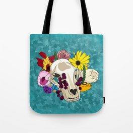 Feline Flourish Tote Bag