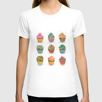 cupcakes T-shirts featuring Cupcakes by Gyöngyi Balogh