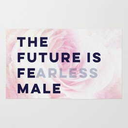 The Future is Female #girlboss #empowerwomen Rug