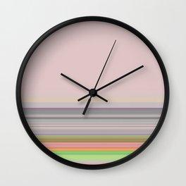 Stripes 6 Wall Clock