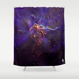 ALTERED Hubble 20th Anniversary Shower Curtain