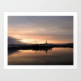 Reykjavik 71 Art Print