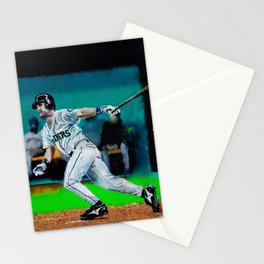Edgar Martinez-The Double Stationery Cards