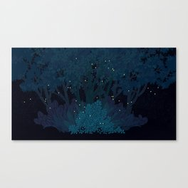 Fireflies Canvas Print