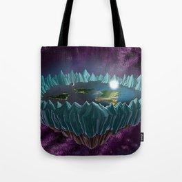 The Flat Earth Tote Bag