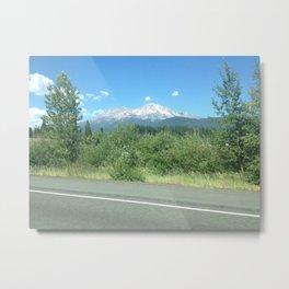 Mt. Shasta Metal Print