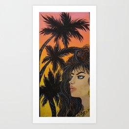 La Riena de Sur Art Print