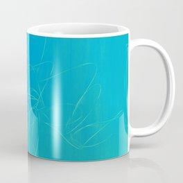 metal wire green blue Coffee Mug
