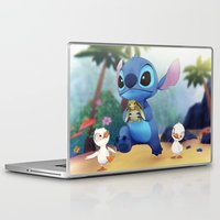 stitch Laptop & iPad Skins featuring Stitch by beastace