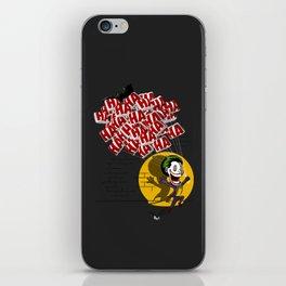 Jokahahaha iPhone Skin