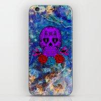 sugar skull iPhone & iPod Skins featuring Sugar Skull by haroulita