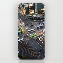 Gangnam at Rush Hour iPhone Skin