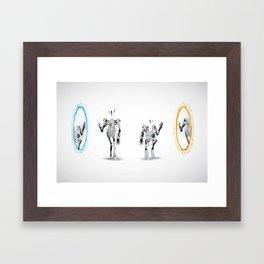 heya! Framed Art Print