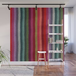 Get Knitted Wall Mural