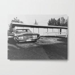 Thunderbird Apartments Metal Print