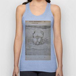 Hugo de Groot's Syntagma Arateorum 1600 - 08 Cancer Unisex Tank Top