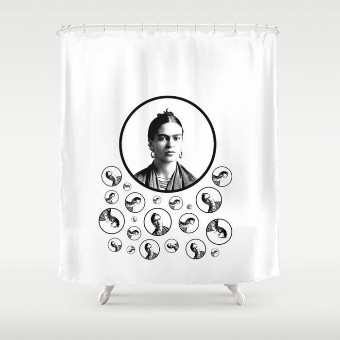 Frida Kahlo Shower Curtain By Cinnamonbeach