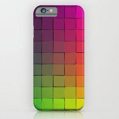 Rainbow squares Slim Case iPhone 6s