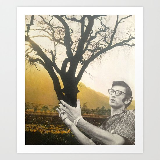 Tree Hands Art Print