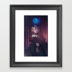 Eye Lady Framed Art Print