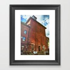 brick 1 Framed Art Print