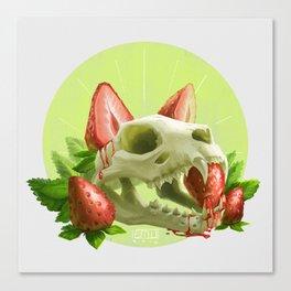 Strawpurry Canvas Print