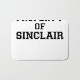 Property of SINCLAIR Bath Mat