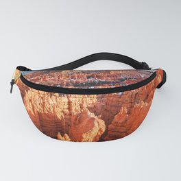 Sunset Point at Bryce Canyon Panorama Fanny Pack