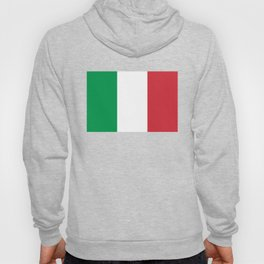 Flag of Italy - High quality authentic version Hoody