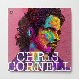 chris cornell tribute Metal Print