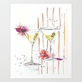 city martini's Art Print